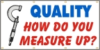Quality - How Do you Measure Up? Banner
