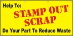 Stamp Out Scrap Banner