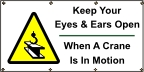 Keep Your Eyesy and Ears Open Banner
