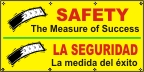 Spanish - Safety, The Measure Of Success Banner