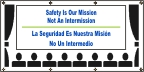 Spanish - Safety Is Our Mission Banner
