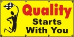 Quality Starts With You Banner