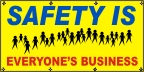 Safety Is Everyone's Business Banner