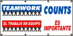 Spanish Teamwork Counts Banner