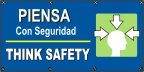 Spanish - Think safety (head) Banner