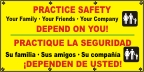 Spanish - Practice Safety Banner