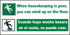 Spanish - When Housekeeping is Poor Banner