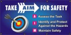 Take AIM For Safety Banner