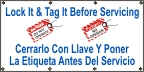 Spanish Lock It and Tag It Banner
