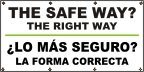Spanish - The Safe Way? Banner
