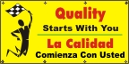 Spanish - Quality Starts With You Banner
