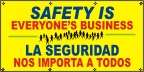 Spanish - Safety Is Everyone's Business Banner